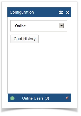 confluence chat status selection