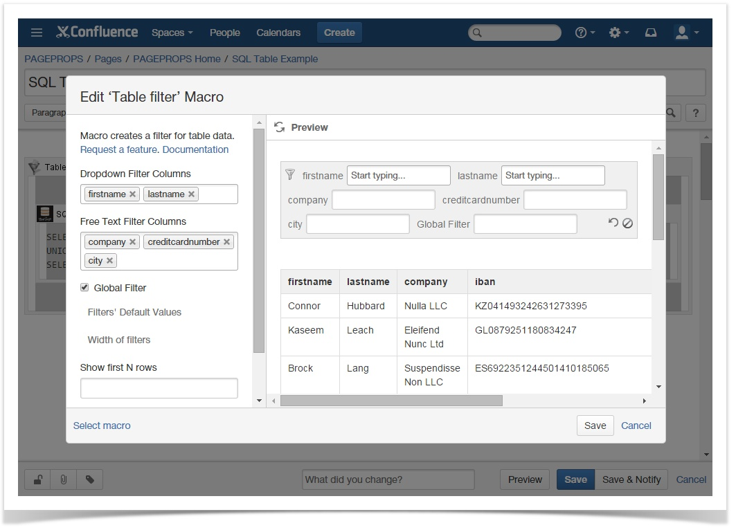 Efficiently manage and visualize tables in Confluence | StiltSoft
