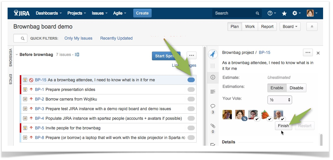 jira how to get to board settings