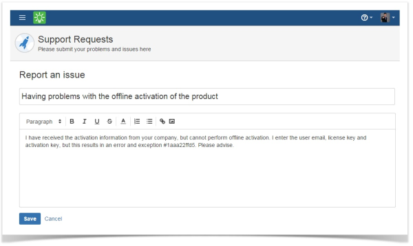 customer_case_jira_cloud_report_issue_form