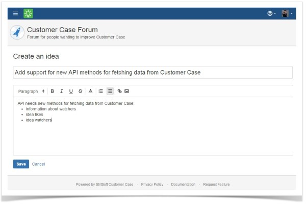 customer_case_adding_a_new_idea_form