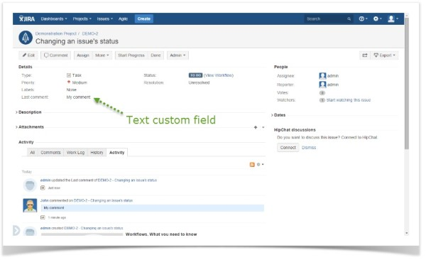 SQL for JIRA-text custom field