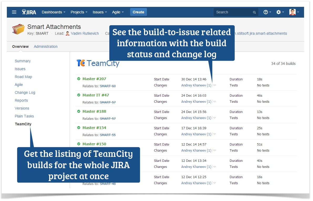 Get Мaximum from TeamCity Integration through REST API