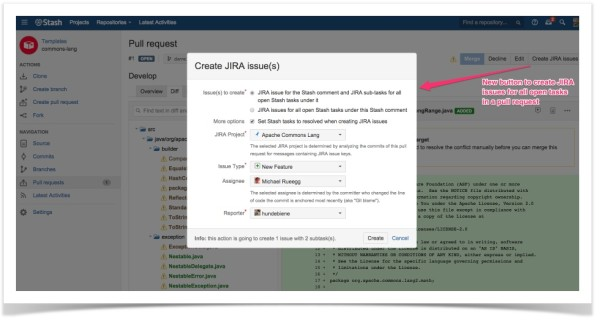 Issue Creator for Bitbucket Server 4