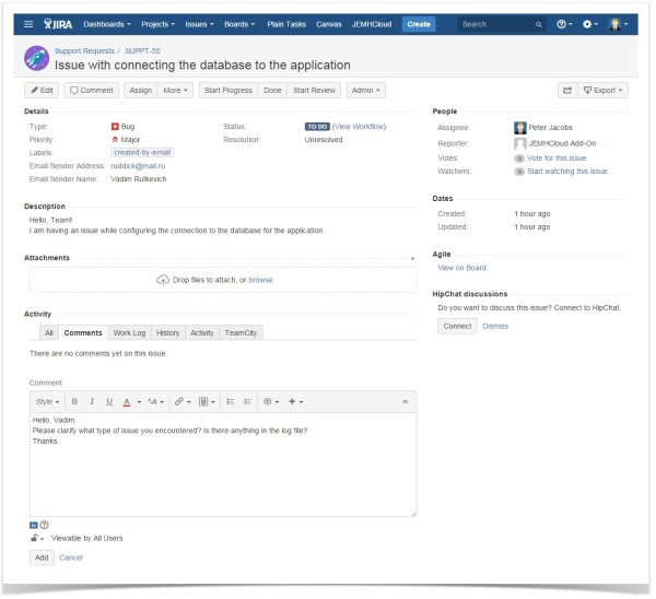 jira_enterprise_mail_handler_sending_response_to_customer