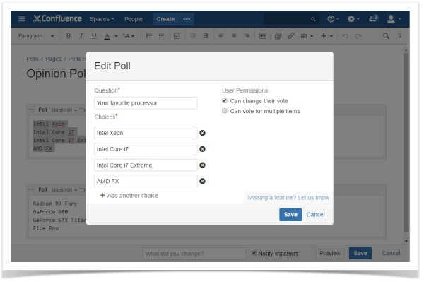 confluence-cloud-create-edit-poll