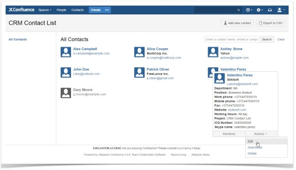confluence-contact-list-crm-contact-account-management