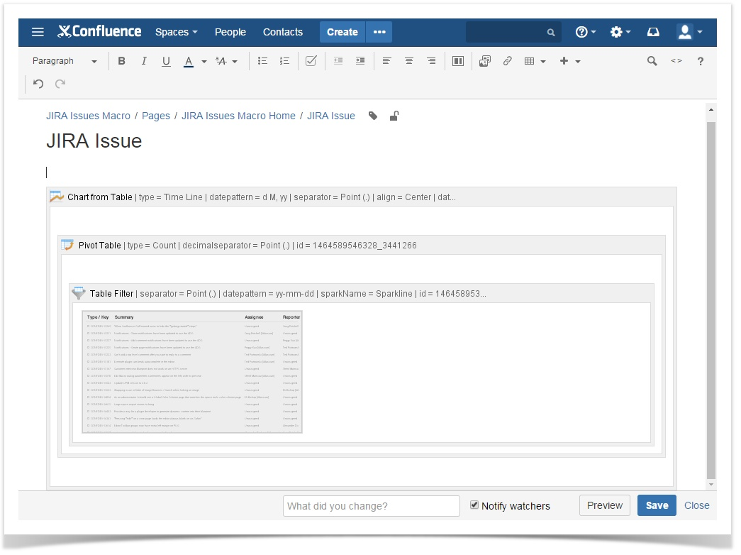confluence_table_filter_pivot_table_chart_from_table_macros