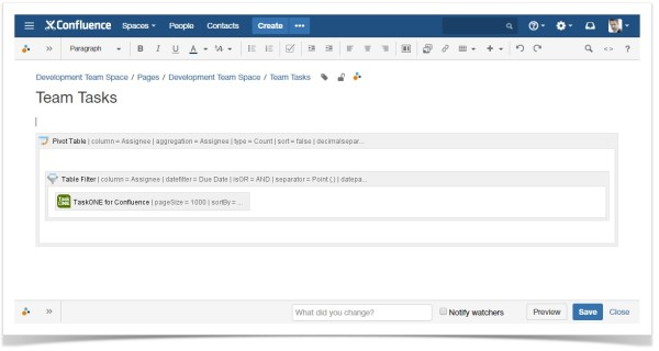 confluence_team_tasks_with_task_one_table_filter_pivot_table_macros