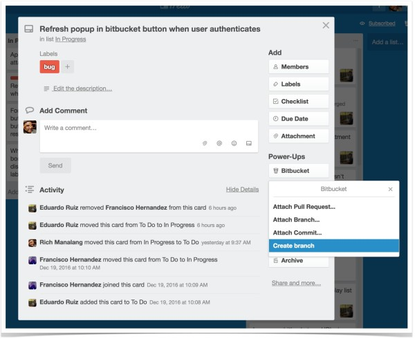 Bitbucket Cloud Power-Up for Trello-3