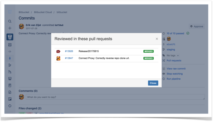 3.Pull Request Commit Links