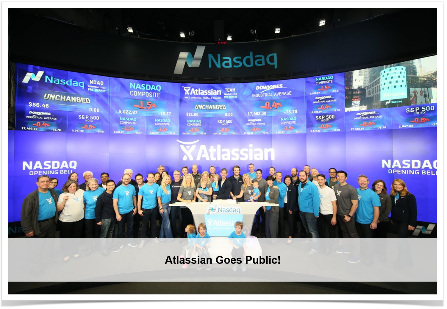 Atlassian goes public