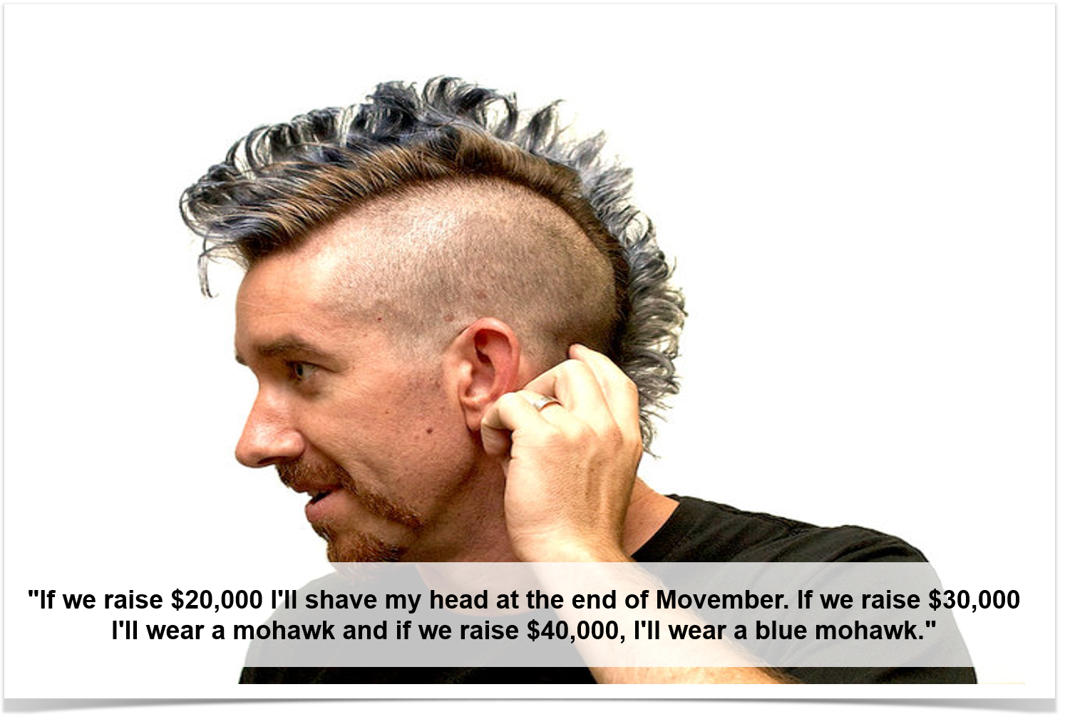Scott with mohawk