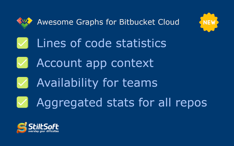 New in Awesome Graphs for Bitbucket Cloud