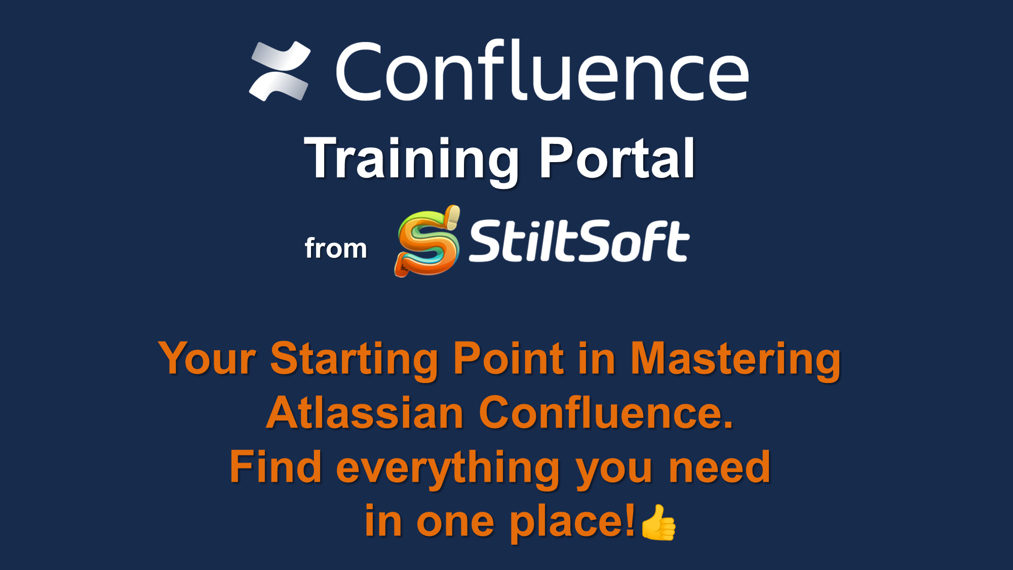 Confluence Training Portal