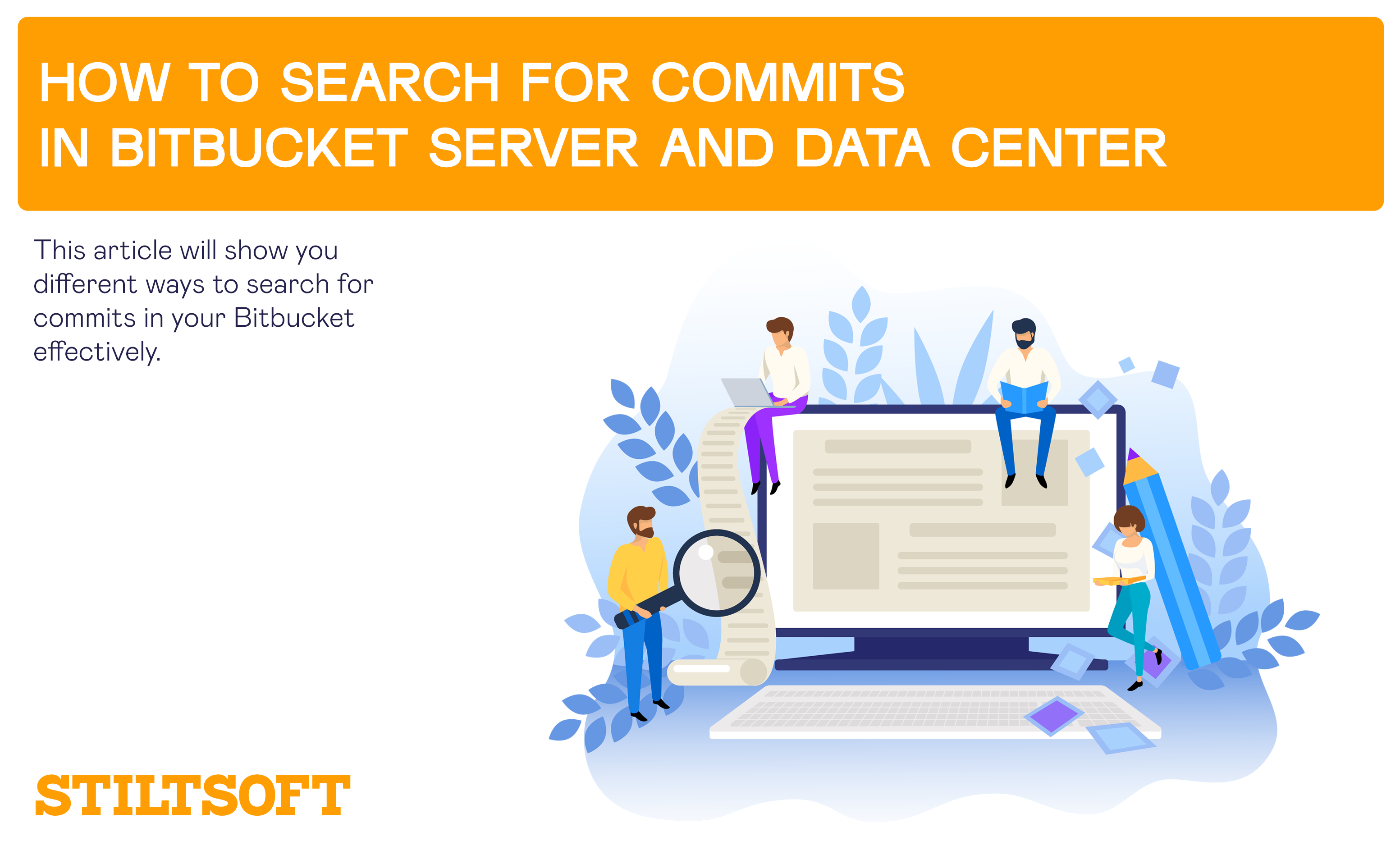 How to Search for Commits in Bitbucket Server and Data Center