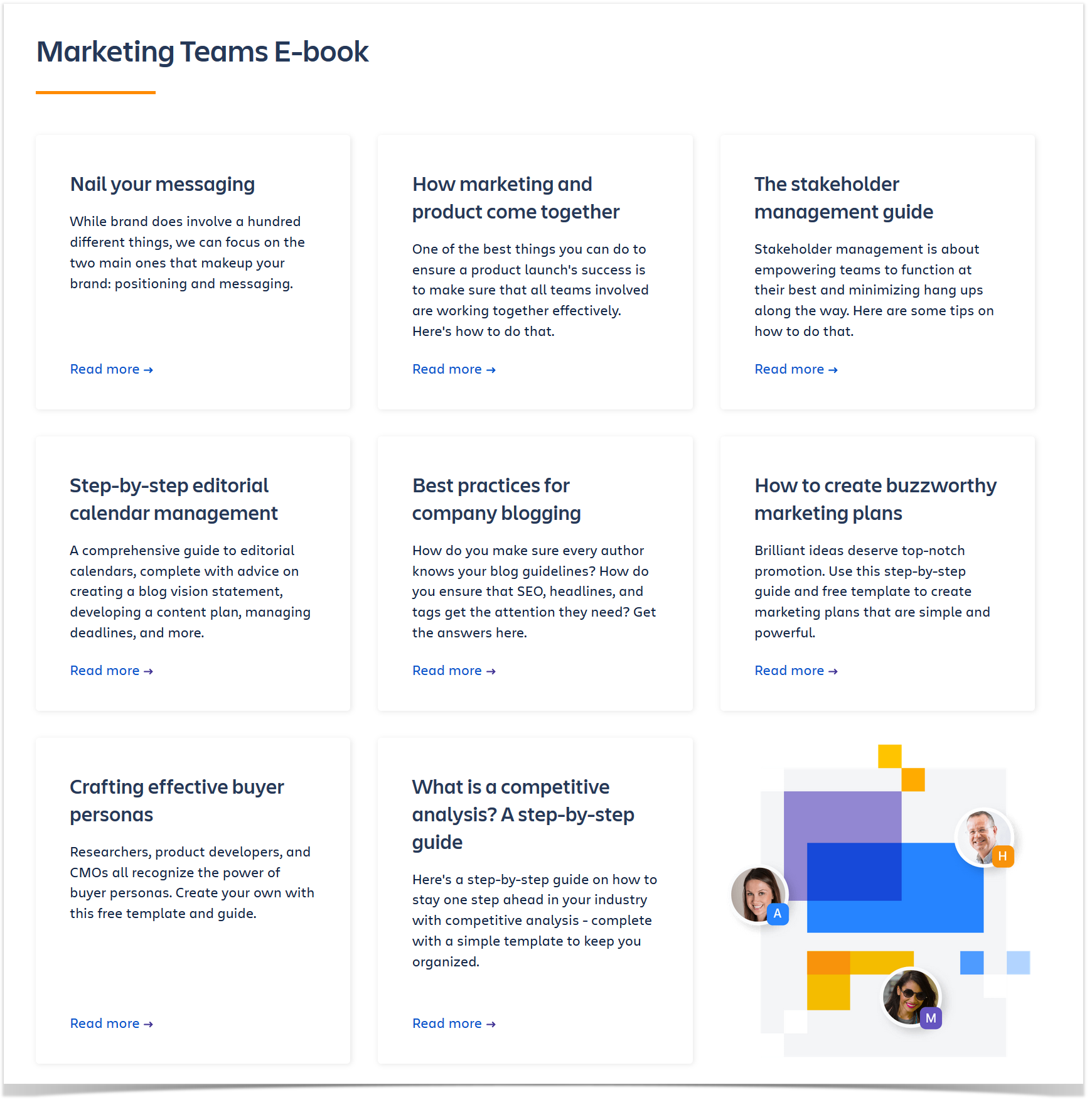 templates in Confluence for marketing teams
