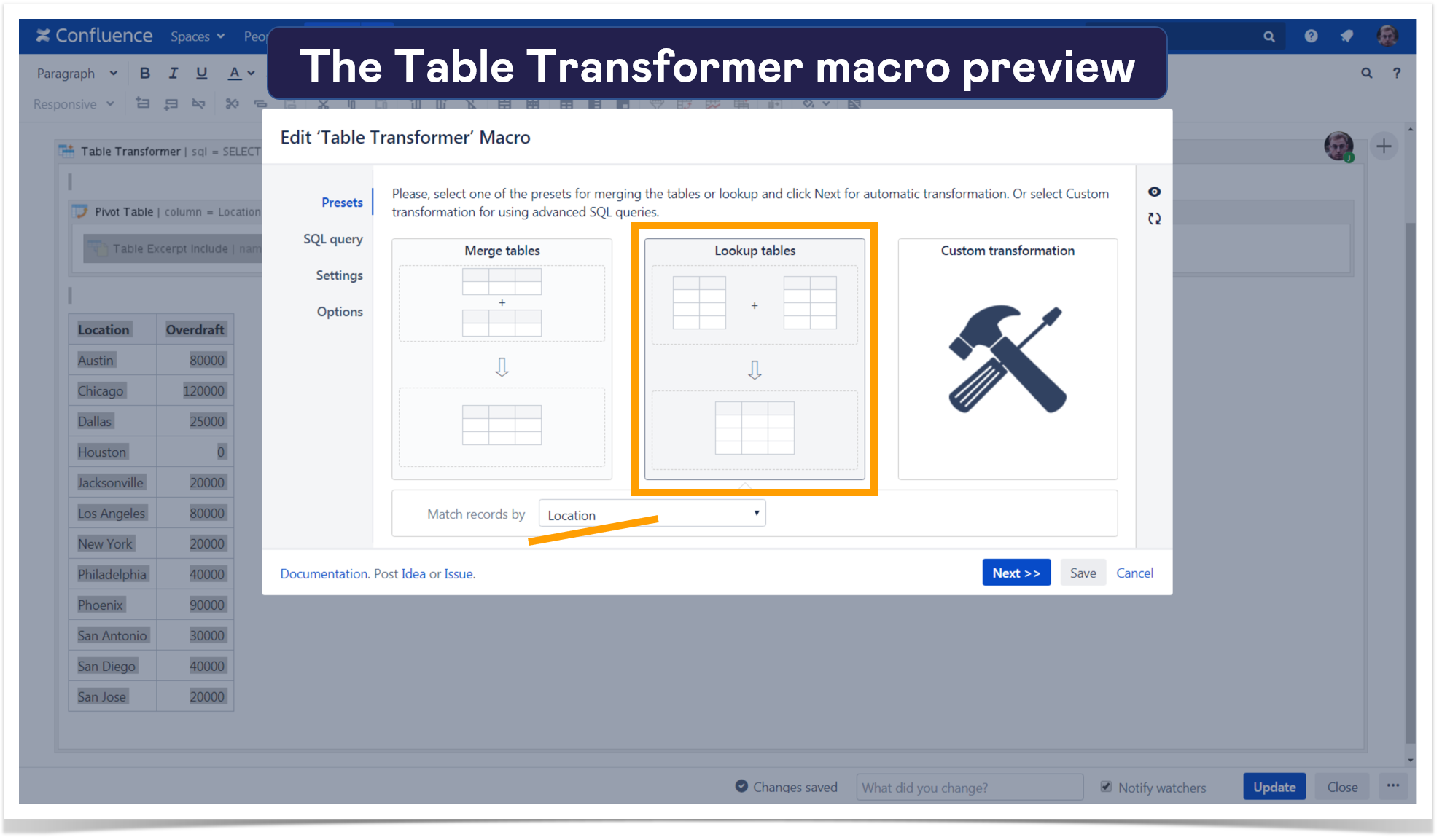 7. table transformer preview